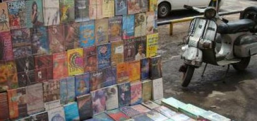 footpath-book-stall