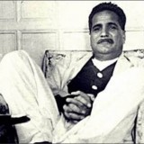 A Rare Photo of Dr. Iqbal in more casual setting