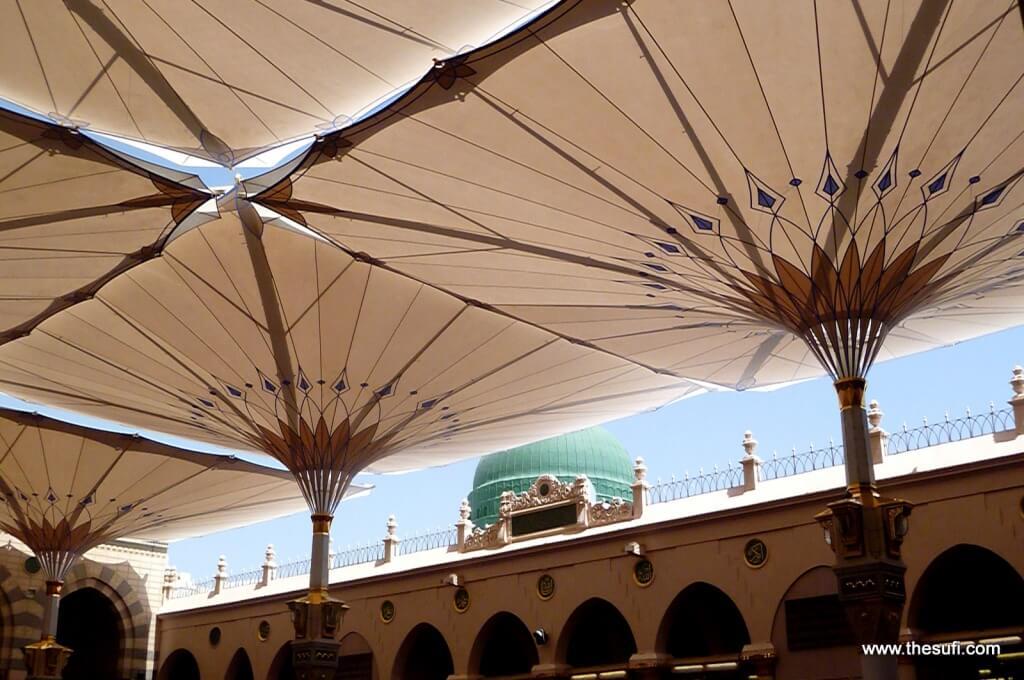 Masjid-e-Nabwi Green Dome