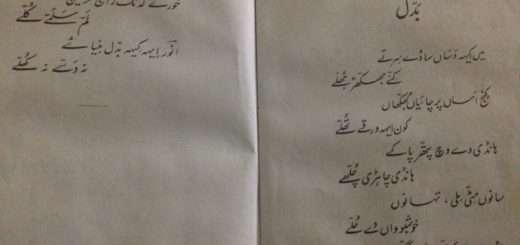 Baddal - Anwar Masood's Punjabi Poem بدل - انور مسعود دی پنجابی نظم