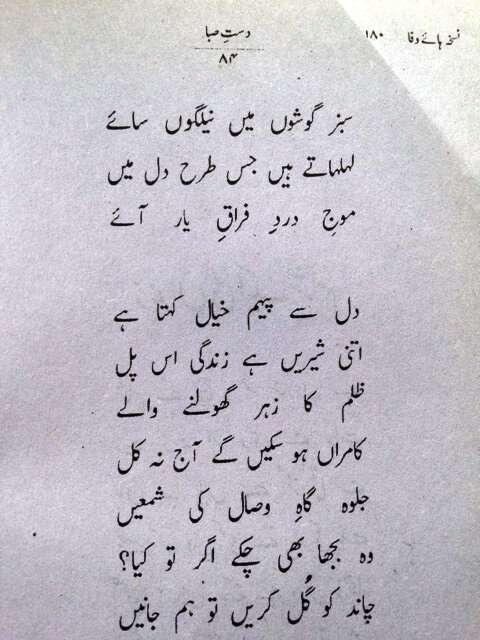 Zindan ki ek Shaam - Faiz Urdu Poem-2