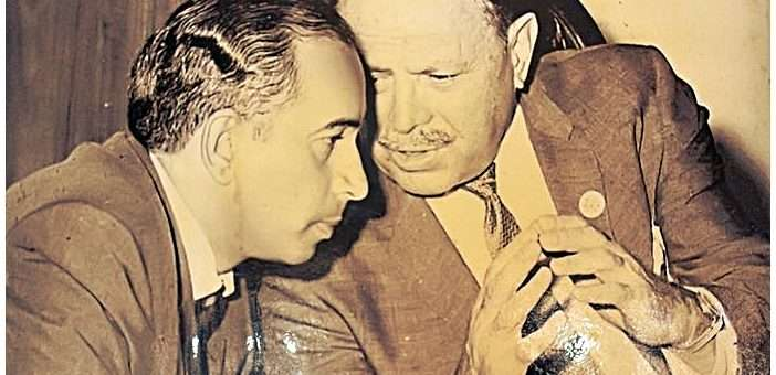 ayub and bhutto