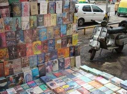 footpath-book-stall
