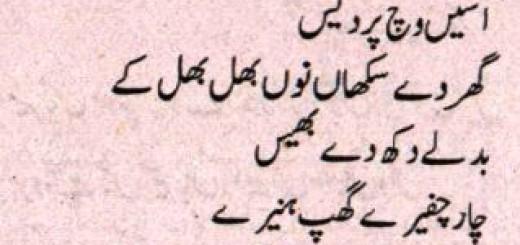 Pardes- Punjabi Poem by M. Khayam