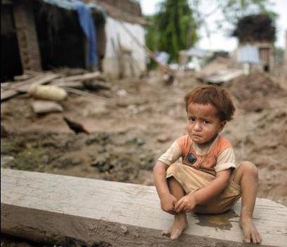 poor kid in pakistan