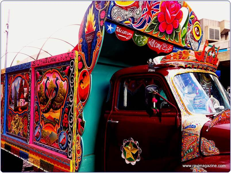 Karachi Truck at London Southbank