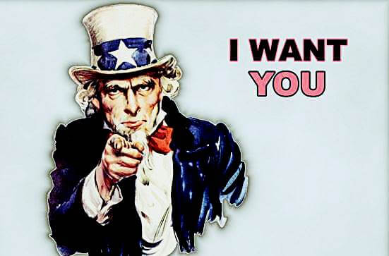 US wants you