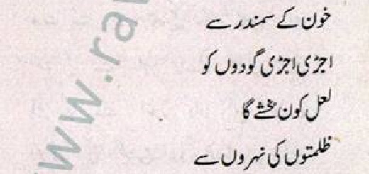 Sawal - Urdu Poem by S. Tahira
