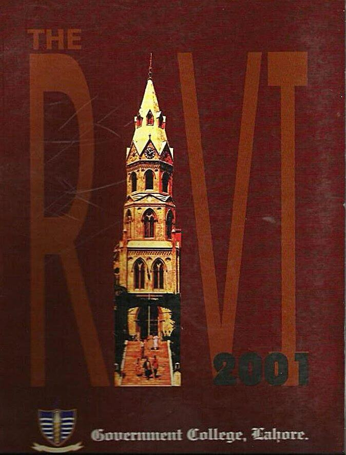 Ravi 2001 Editorial by Shumile Arif