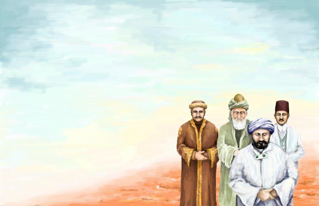Iqbal Rumi Pasha and Afghani