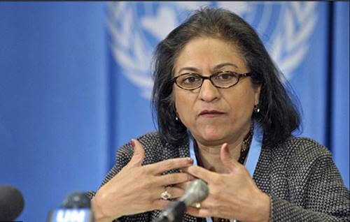 Asma Jahangir at UN