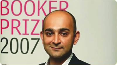 mohsin hamid at booker prize awards