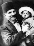 Allama Iqbal with Javed Iqbal