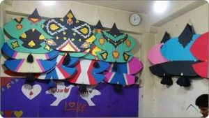 Kites in Different Colours