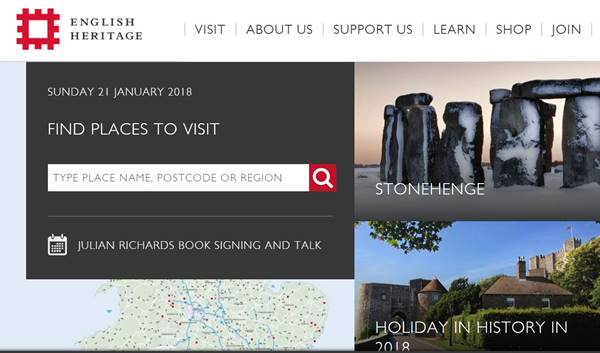 national heritage website review