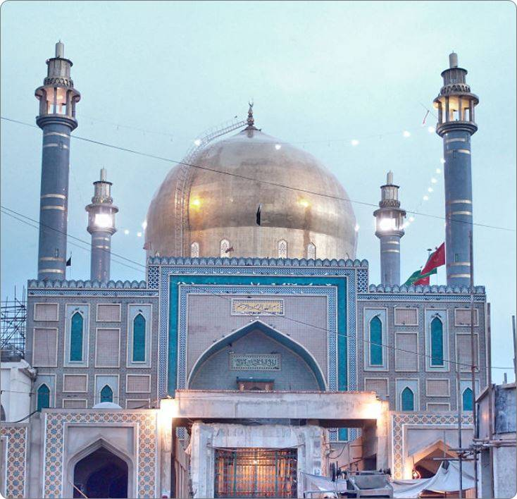 Shrine of Lal Shahbaz Qalandar
