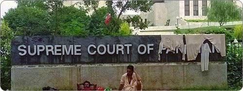 supreme court pakistan hanging clothes