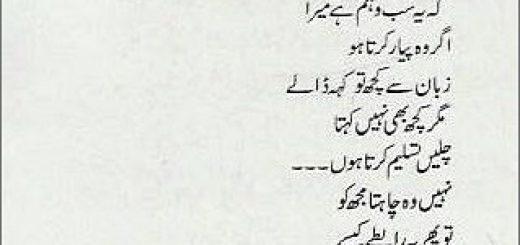 Meri Khusfahmiaan Dekho - Muhammad Saeed