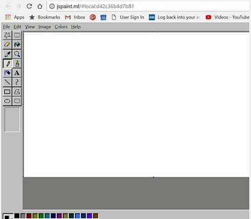 How to use Microsoft Paint online for free using browser