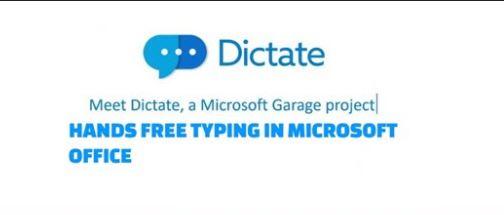 MS dictate
