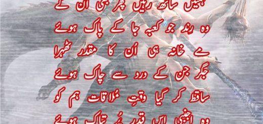 Ghazal by M. Irfan