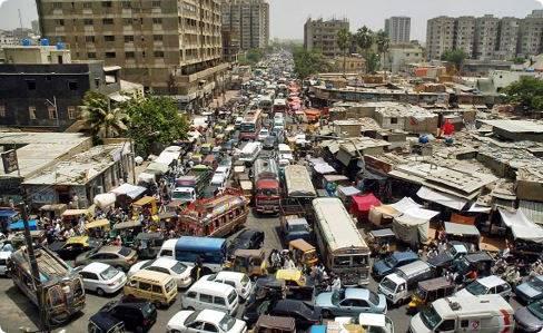 traffic in pakistan